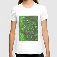 squirtle T-shirts featuring Squirtle by pkarnold + The Cult Print Shop