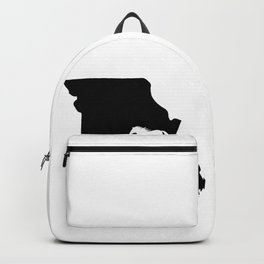 Missouri Fox Trotter Horse Lover Black Backpack