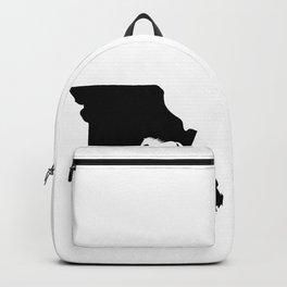 Missouri Fox Trotter Horse Lover Black Backpack