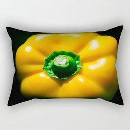 Yellow Bell Pepper Rectangular Pillow