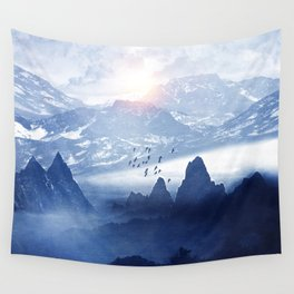Winter. Melody... Wall Tapestry