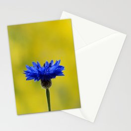 Blue cornflower Stationery Cards