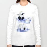 swim Long Sleeve T-shirts featuring Swim! by MABurk