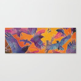 Make Way for the Raven King Canvas Print