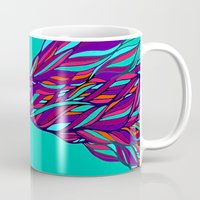 prism Mugs featuring Prism by Kate Shea
