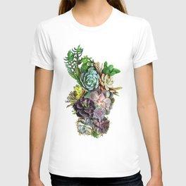 Succulent gardens T-shirt