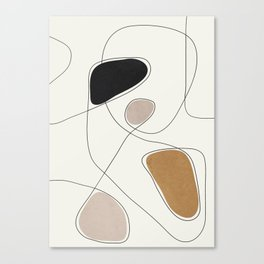 Thin Flow I Canvas Print