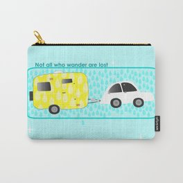 glamping in sun or rain Carry-All Pouch