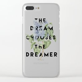 Strange the Dreamer Clear iPhone Case