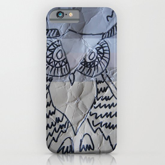 gray owl 02 iPhone & iPod Case