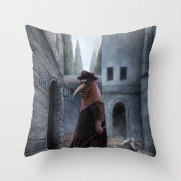 Plague Throw Pillow