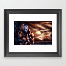 Mass Effect - Memories Framed Art Print