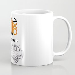 I AM INSPIRED LAND CRUISER 80 Series Coffee Mug