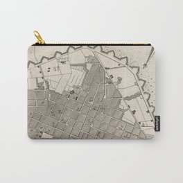 Vintage Map of Lima Peru (1764) Carry-All Pouch
