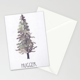 Tree Hugger II Stationery Cards
