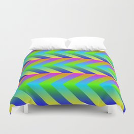 Colorful Gradients Duvet Cover