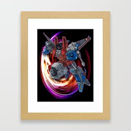 Starscream Framed Art Print