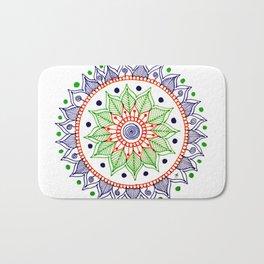 Mandala Creation #3 Bath Mat