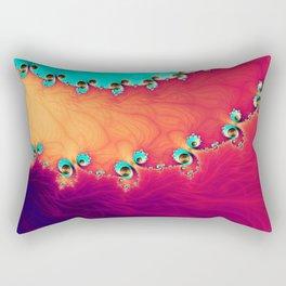 Ocean Spirals Rectangular Pillow
