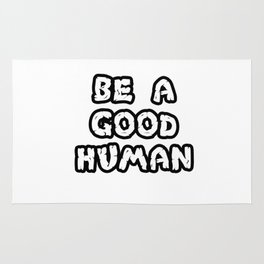 good human Rug