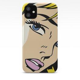 A vectorised Roy Lichtenstein iPhone Case