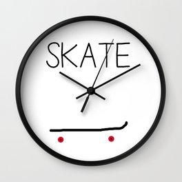 Skate Wall Clock