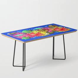 Fish Cute Colorful Doodles Coffee Table