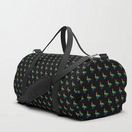 LGBT Pride Swan Duffle Bag