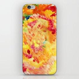 Autumn outburst iPhone Skin