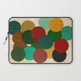 bubbles on fabric pattern Laptop Sleeve