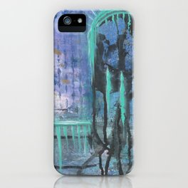 Patina Of Decay iPhone Case