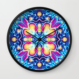 Moroccan Three Wall Clock
