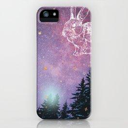 Celestial Rabbit iPhone Case