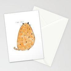 I am art Stationery Cards