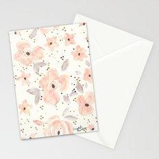 Blush Rosé Sparkle Stationery Cards