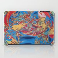 eat iPad Cases featuring EAT by Robert Nickologianis