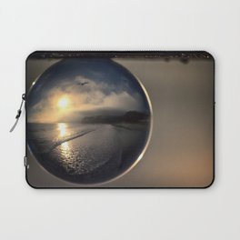 Capturing Avila Beach refraction photography crystal ball Laptop Sleeve