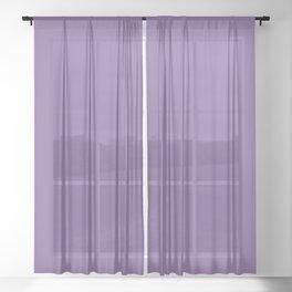 Purple Medium Sheer Curtain