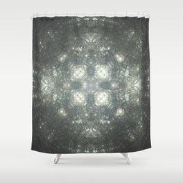ILLUSTRATION.CIRCLEFORGE Shower Curtain