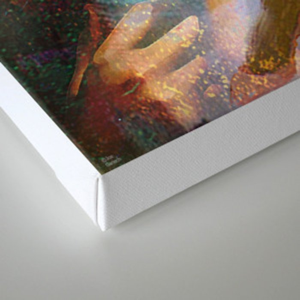 Furtive memory Canvas Print