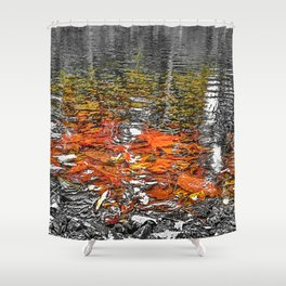 Landscape II Shower Curtain