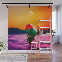 Just Clouds Wall Mural