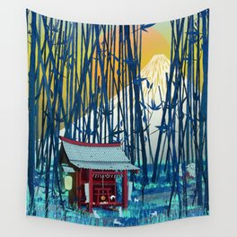 On my way to Mount Fuji Wall Tapestry