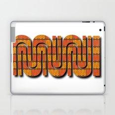 SF Muni selfie Laptop & iPad Skin