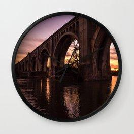 CSX A-Line Sunset Wall Clock