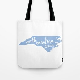 North Carolina Strong - Hurricane Florence Tote Bag