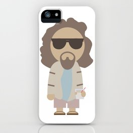 THE DUDE - Big Lebowski iPhone Case