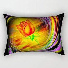 Flowermagic - Rose Rectangular Pillow