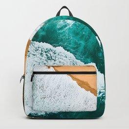 Beautiful Aerial Beach Vintage Backpack