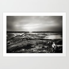 Cramond, Scotland Art Print